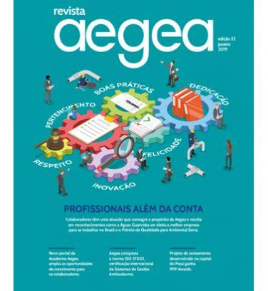 Revista Aegea Edição 22 | Janeiro 2019