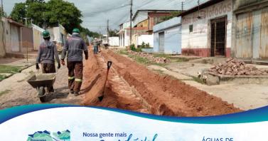 Timon Saneada II: confira cronograma com as ruas que recebem as obras de esgoto entre os dias 25 e 29 de outubro